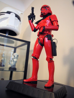 Collection Star Wars - statue magma trooper