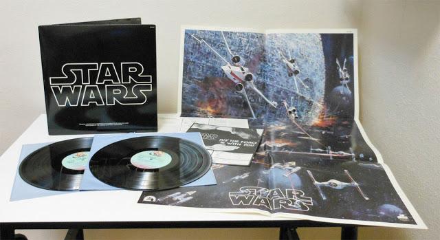 idée cadeau, LP bande originale Star Wars