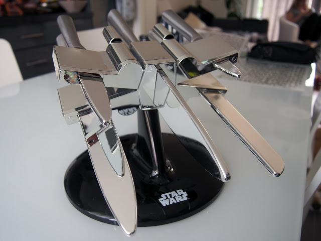 idée cadeau, le porte-couteaux Star Wars
