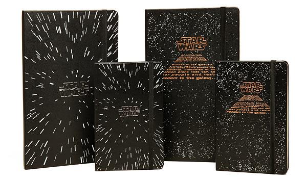 idée cadeau, le carnet Moleskine Star Wars