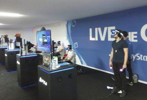 Playstation VR au Paris Games Week
