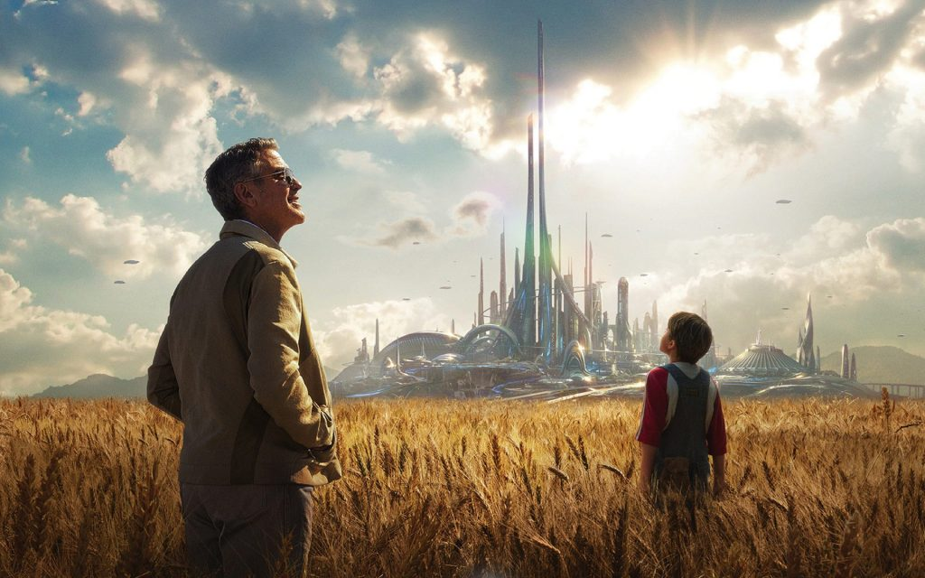 tomorrowland - a la poursuite de demain - un fan de star wars