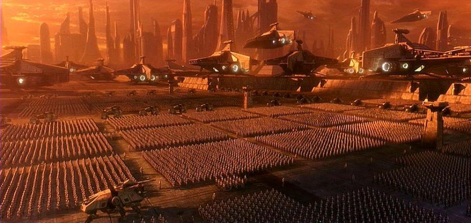 le contexte politique de la nouvelle trilogie star wars