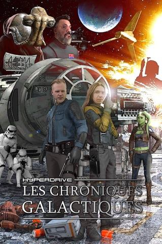 Chroniques Galactiques hyperdrive saga mp3 fiction audio Star Wars