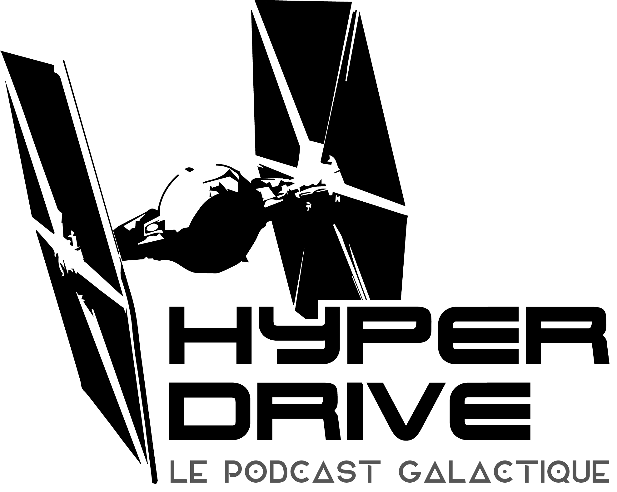 Hyperdrive podcast star wars logo